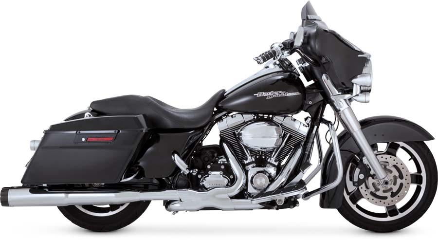 VANCE&HINES・1995-2016★4.5 HI-OUTPUT CARBONマフラー