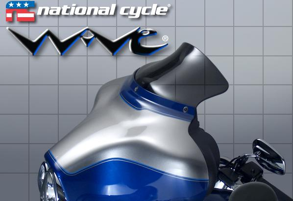 NATIONAL CYCLE★WAVE 5.25インチウインドシールド