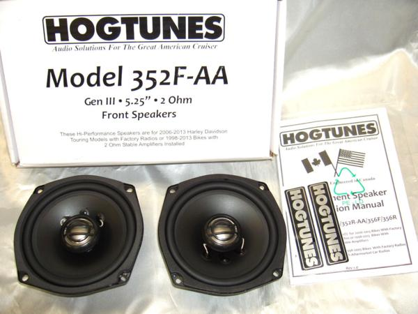 HOGTUNES・〜2013 ツーリング★フロントスピーカーキット