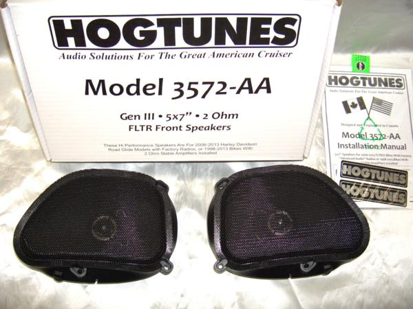 HOGTUNES・〜2013 FLTRX★フロントスピーカーキット